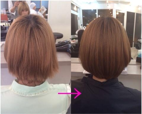 毎週美容室のトリートメントをしているサロンモデルさんでも髪が綺麗にならなくて