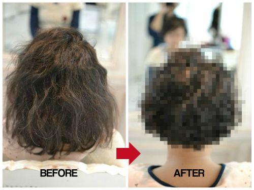 このくせ毛、縮毛矯正をしないで活かせることはできますか???