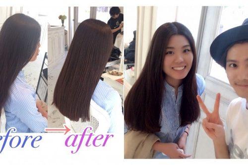 【髪質改善】中東のカタールから髪を綺麗にするためご来店♥︎