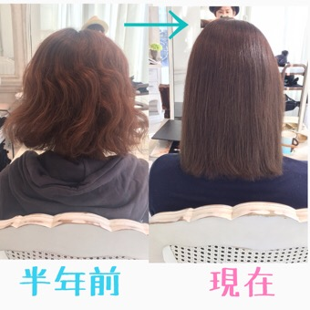 [乾燥するパサパサな髪を綺麗な髪に改善]大阪からリピーターに❤︎