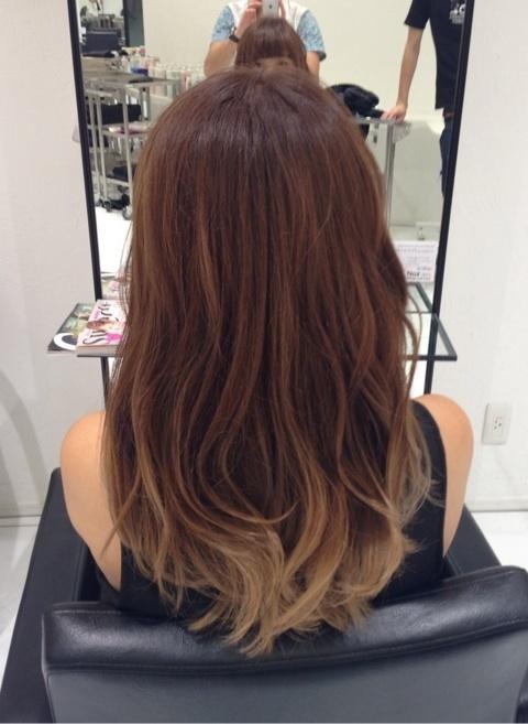 大人の色気を10代でも出すにはヘアが重要です。