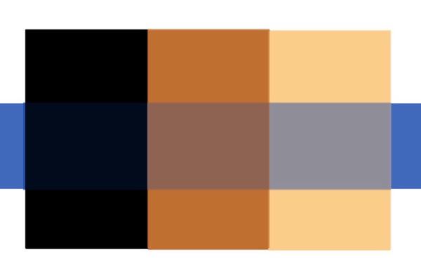 髪色と色素の関係
