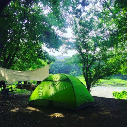 夏はキャンプ!目一杯遊ぶ事が大事!
