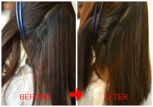 (R)安心安全な縮毛矯正リタッチ