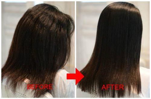 【クセが強く髪が多い髪の縮毛矯正】25年間の縮毛矯正史上最高の伸びとツヤ♪