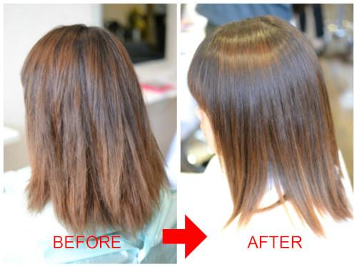(R)縮毛矯正をしたら髪の毛がパサパサになった時の解決策 ビビり直し編