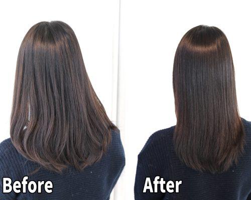 縮毛矯正で傷んでしまった髪を髪質改善で美髪に,,,