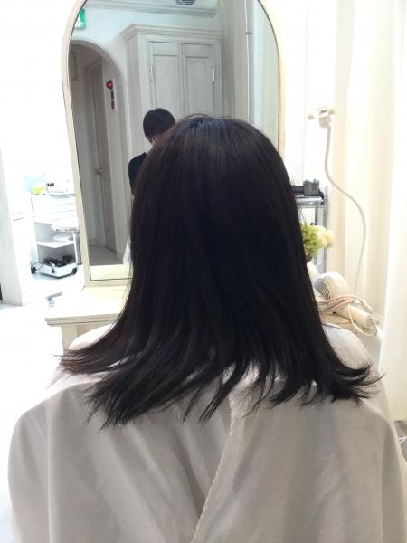 半年間通って髪が綺麗になったと実感