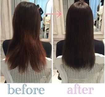 【髪質改善3回目】カラーの繰り返しでバサバサになった髪の改善