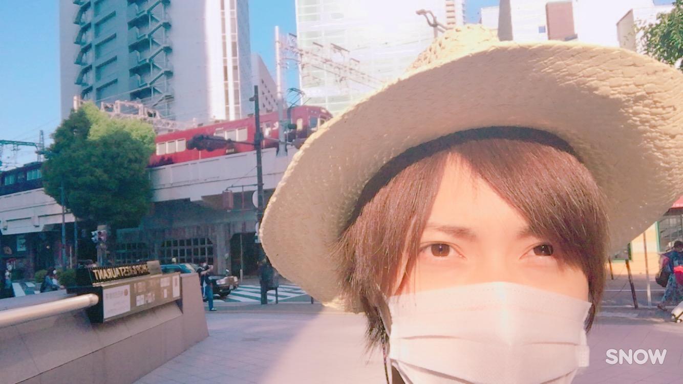 大阪に帰りました!