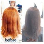 【髪質改善】全体ブリーチにより髪の毛がボロボロに!ブリーチ毛の髪質改善!