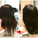 髪の毛を梳かれ過ぎて膨らみがひどくてどうしようもできない