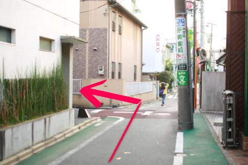 lilyへ原宿駅からのアクセス11