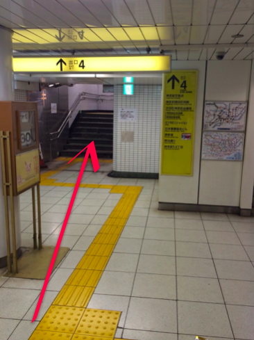 lilyへ明治神宮前駅からのアクセス02