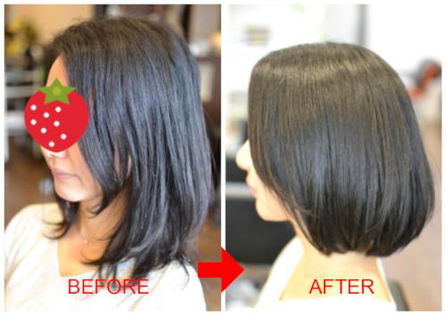 (R)縮毛矯正をやめて 自らのくせ毛を活かしたい!そんなお客様が増えています