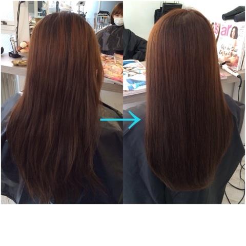 美髪アドバイザーの髪質改善は必ず結果を出します。
