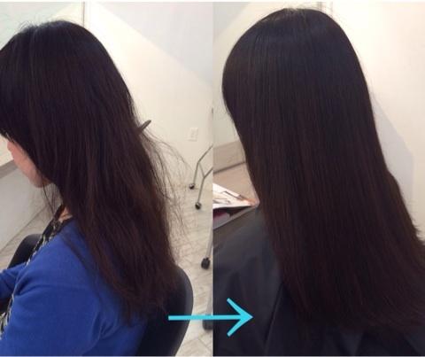 埼玉県から「何をしても髪が綺麗にならないんです」というお悩みを解決する為に
