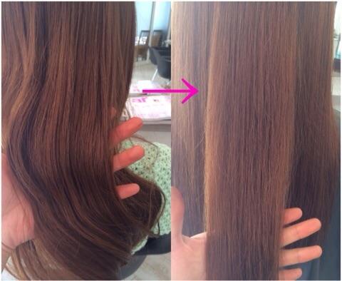 【髪質改善】疲れた印象を与える乾燥毛を綺麗な髪へ