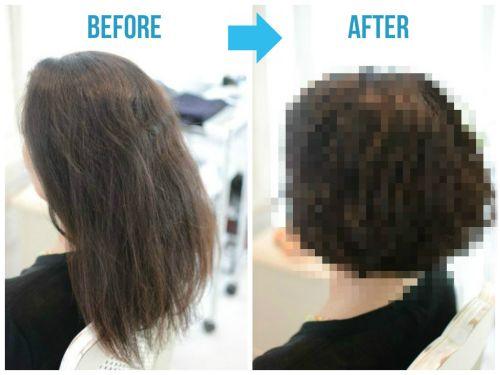 【くせ毛カット】「娘の髪型が素敵だったので」
