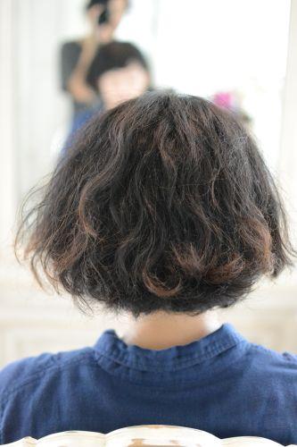 くせ毛 ショート 東京