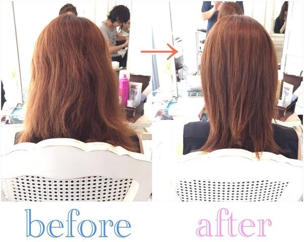 ブリーチの繰り返しで傷んだ髪を綺麗な美髪にするために秋田県からご来店