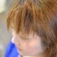 前髪がチリチリ・ジリジリのビビリ毛になってしまった。直せますか?