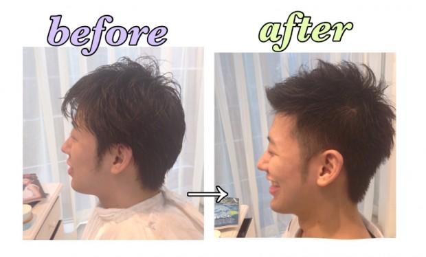 メンズカット美容師小沼あすかの【口コミno.56】カッチョよく仕上げて頂いてありがとうございます!