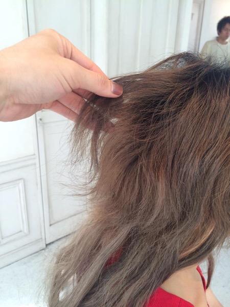 断毛、ブリーチ、切れた、千切れた、縮毛矯正、失敗、髪が切れた、