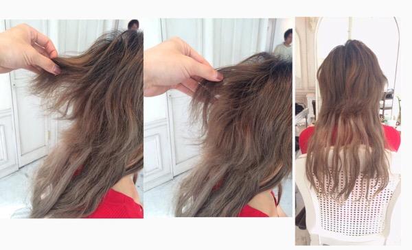 縮毛矯正した髪にブリーチを繰り返した結果、ビビリ毛になり髪が切れてしまった場合の改善策