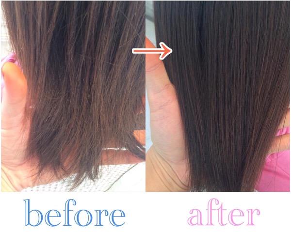 市販のシャンプーで乾燥毛になり、傷んでしまった髪を綺麗な髪に改善
