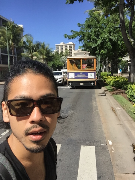 ハワイ 野坂