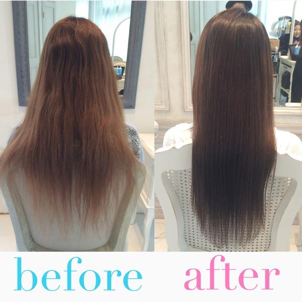 乾燥髪、傷んだ髪、改善。東京、表参道