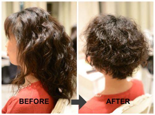 美容師も断る 広がるくせ毛のショートカット