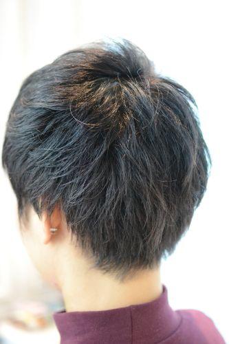 東京 ベリーショート くせ毛
