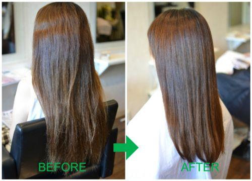 (R)縮毛矯正を毛先までやるリスク と 周期・間隔
