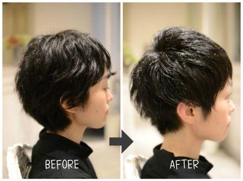 【くせ毛を活かしたカット】ロングからバッサリ切ったあの日から3か月後