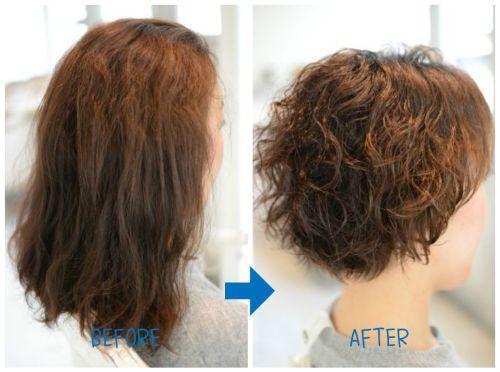 【脱・縮毛矯正】1年3か月後のくせ毛カット