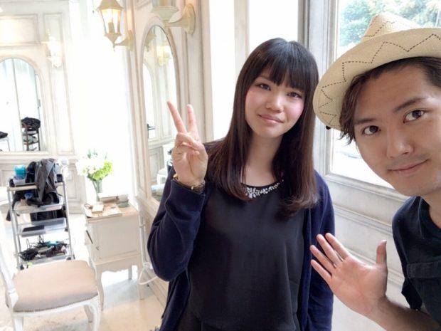 寺村さんだから本当に信頼できます。メニュー変更も髪の事を考えて提案