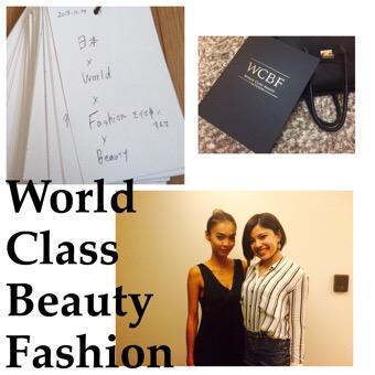World Class Beauty Fashion アドバイザーを一期生でスタート。
