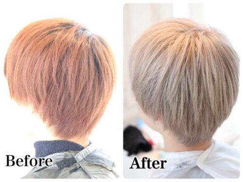 ブリーチオンカラーで髪を白くする!【ブリーチカラーの注意点】