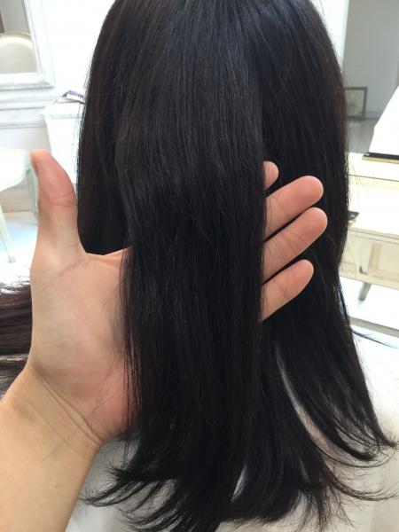 ロングヘアーにしたいけど髪の毛の傷みに耐えられずに切ってしまう【髪質改善】