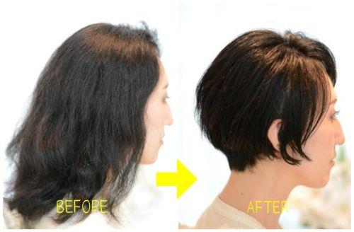 【うねる・パサつく・広がる】日本人特有のくせ毛にこそショートヘア