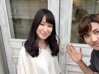 髪質改善を続けてツヤツヤで扱いやすい髪!本当に兵庫県から通って良かった