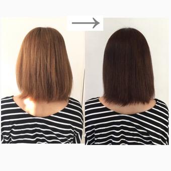 髪質改善1回目で効果を実感「旦那に髪の綺麗さを褒められました。」