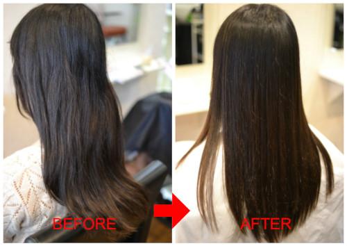 (R)憧れの「元々髪が綺麗なひと」風に。。。スピエラGMT酸性縮毛矯正♪
