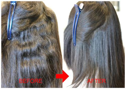 (R)縮毛矯正はくせ毛の強い味方。