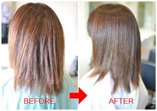 (R)縮毛矯正とカットの失敗の修正