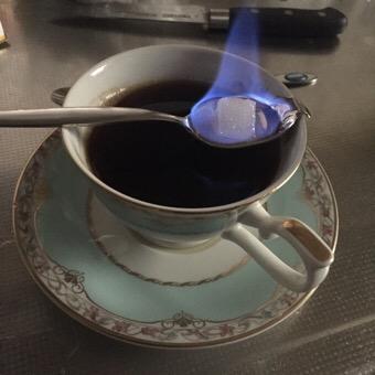 お洒落なコーヒー『カフェロワイヤル』の作り方・レシピ