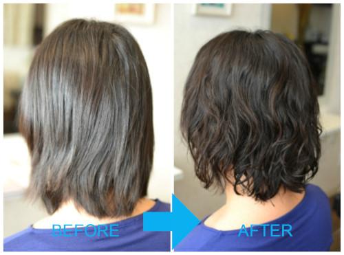 (R)顔周りの縮毛矯正とくせ毛を活かすパーマで縮毛矯正からの脱却