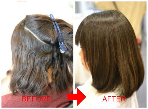 (R)真っ直ぐすぎる縮毛矯正はイヤ!ストカールでつくる毛先ワンカールボブ